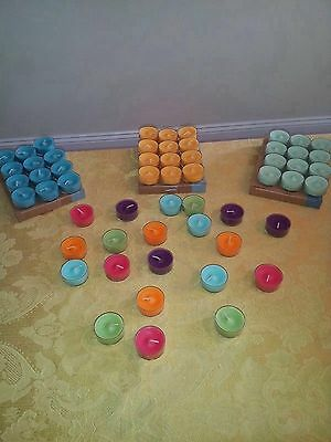 Partylite Lot Of  Tealight Candles 3 Dozen You Choose Your Scents