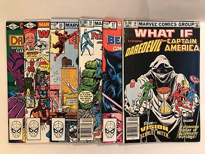 What If Lot Of 6! 33-38 NM-,Combined Shipping! Hulk Fantastic Four Iron Man