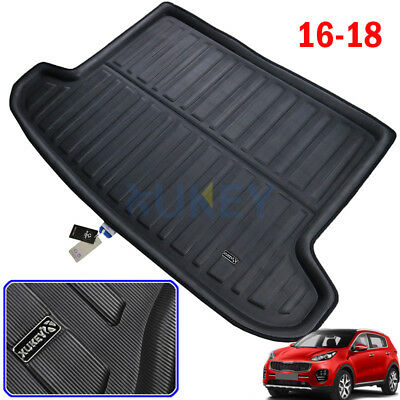 Rear Trunk Liner Boot Cargo Mat Floor Tray Carpet Fit For Kia Sportage 2017 2018