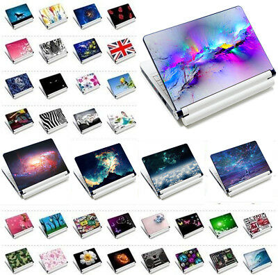 "Laptop Sticker Skin Decal Cover For 11.6""~15.6"" HP Dell Acer Toshiba Lenovo New"