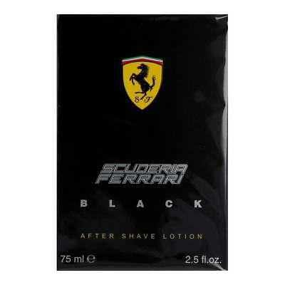 Ferrari Scuderia Ferrari - Black - Aftershave Lotion 75 ml