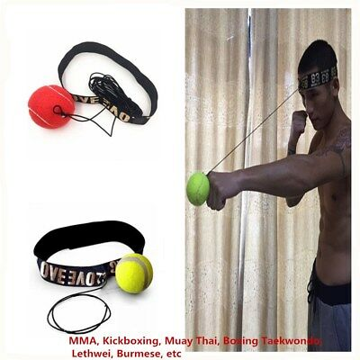 Fight Boxing Ball Equipment With Head Band For Reflex Speed Training Boxing Tool