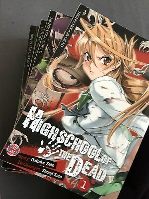 highschool of the dead manga 1-6
