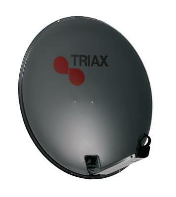 Satellitenantenne 64 cm 35.8 dB Anthrazit, Triax dish with steel mounting (97390