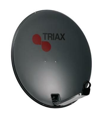 Satellitenantenne 110 cm 40.2 dB Anthrazit, Triax dish with steel mounting (9739
