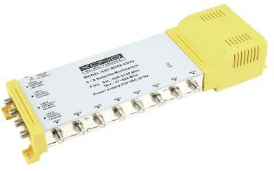 Multischalter 5/8 - 47-862 MHz / 950-2150 MHz, Multiswitch mit 4 (9739010453)