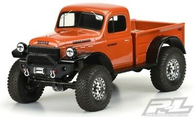 Pro Line 1946 Dodge Power Wagon Karosserie klar f.12.3 (313mm)Scale Crawler 1:10