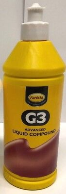 NO.1 Farecla G3 Advanced Liquid Compound 500ml Bottle Car Polishing