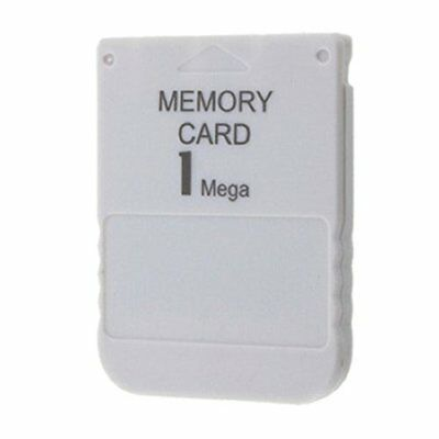 Playstation Ps1 Psone Memory Card 1Mb / 15 Blocchi