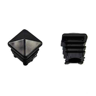 Cover Caps for Square Tubes Pyramids Form Black Absolutely Description See