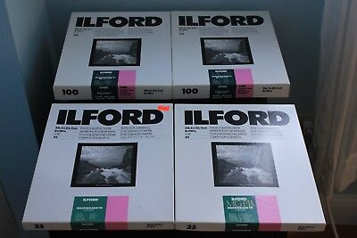 Ilford Deluxe Photo Paper Bulk Deal (RC Deluxe and Multi-Grade FB Classic)