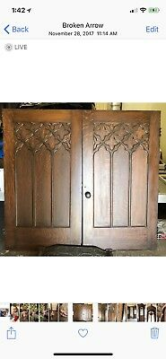 Gothic Church Door Set