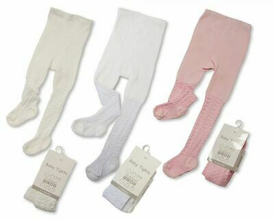 Baby Girls 2PAIR/3 PAIR Cotton Rich Plain/lace  baby Tights newborn-24 month
