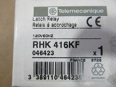 Telemecaniqe RHK416KF Latch Relay NEW!!! in Factory Box Free Shipping