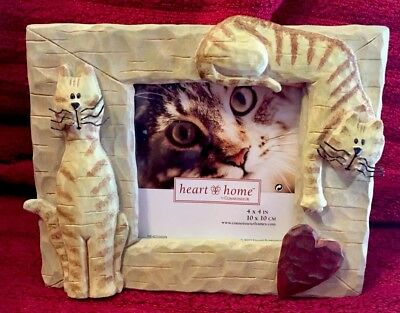 Yellow / Orange Tabby Cat **Photo Picture Frame **--New in Gift Box