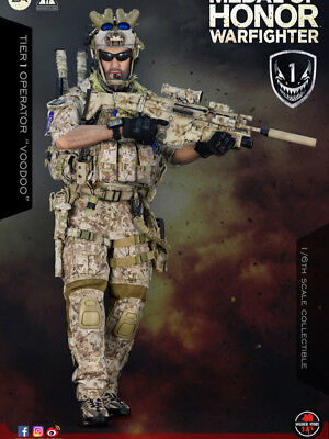 "PO Soldier Story 1/6 Medal Of Honor Navy SEAL Tier One Operator ""Voodoo"""