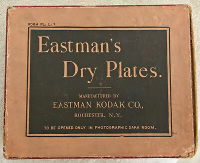 Unopened Eastman's Dry Plates Box 4 x 5 inches
