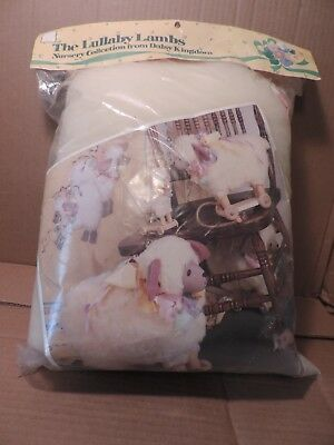 1980's DAISY KINGDOM LULLABY LAMB NURSERY COLLECTION PULL TOY KIT # 2020