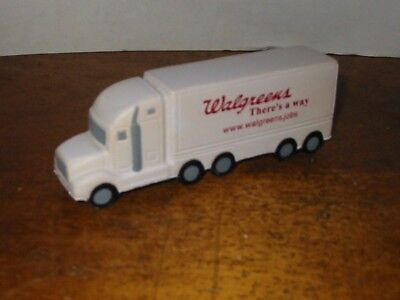 Walgreens Delivery Truck Soft Stress Relief Toy Rubber Spongy Advertisement