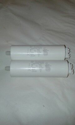 2 x Italfarad 16uF Capacitor Motor Run Lighting 250VAC 50/60HZ UK Job Lot    #DU