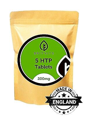 5 HTP 200mg Griffonia Seed Hydroxytryptophan 30/60/90/120/180/250/500 Tablets