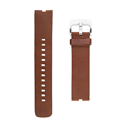 New in Box OEM Motorola Leather Cognac Band For Moto 360