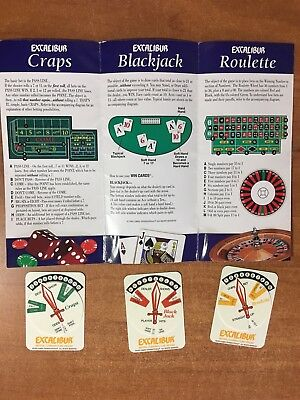 vintage WIN CARDS to Beat the Casinos CRAPS BLACKJACK ROULETTE ~ you need these!