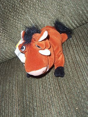 Disney Lion King Sound Pumbaa Bean Bag Plush