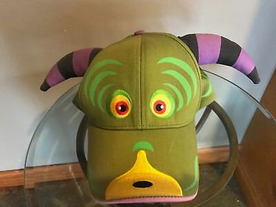 **New** **Never Worn** Monster.com Embroidered baseball cap with face and horns