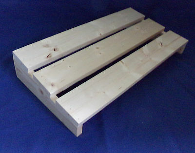 "Custom Guitar / Bass Effect Pedal Board - Unfinished DIY Large 12"" x 24"" Size"