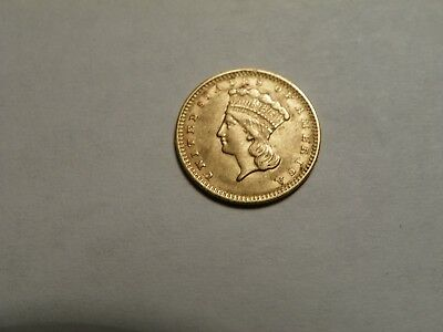 1856  Indian Princess Gold