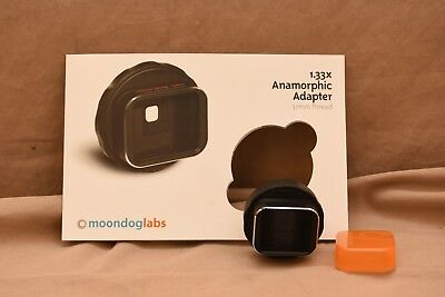 Moondog Labs 1.33X Anamorphic Adapter Lens - 37 mm thread - EXCELLENT CONDITION!