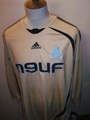 Olympique De Marseille Football Shirt Size Xl Long Sleeved Nwt