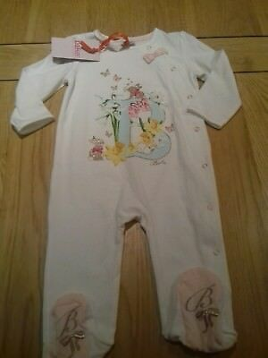 girls ted baker sleepsuit 9-12 months (new with tags)