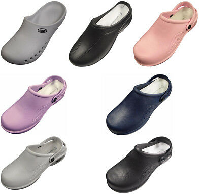 7c28f47ee9c Natural Uniforms Women s Lightweight Comfortable Slip Resistant Nursing  Clogs