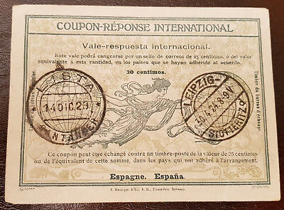 Coupon-Reponse Internationaler Antwortschein IAS Römer Muster Espana Spanien