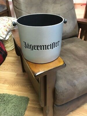 Jagermeister Metal Ice Bucket with Removeable Plastic Liner Jager
