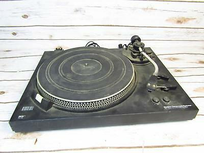 MCS 6601 Direct Drive Automatic Turntable Tested Working Needs New Needle