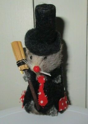 The little mouse factory 2 inch real fur mouse vintage