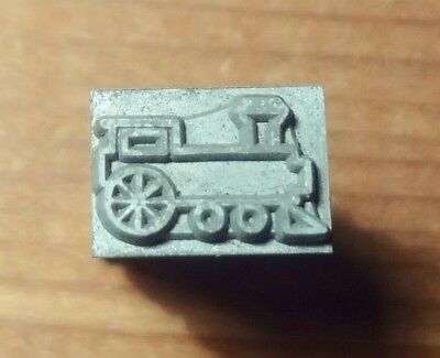 Kingsley NEW CHILDS TRAIN... For Hot Foil Stamp Machine On 18 Pt. Body