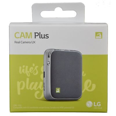 LG G5 CAM Plus Real Camera UX w/ 1200mAh Extended Battery CBG-700, NEW