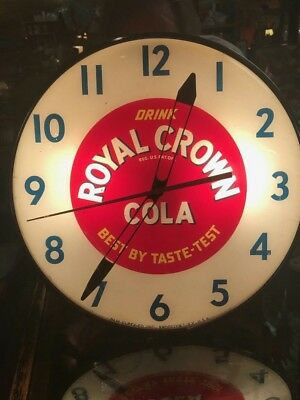 Vintage  RC Cola Lighted Electric Clock