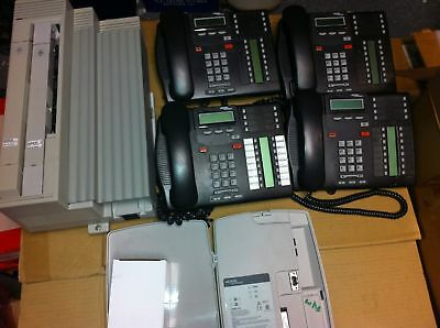 Nortel Norstar Compact ICS Office Phone System with Voicemail and 4 T7316E