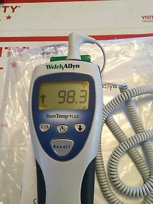 Welch Allyn SureTemp Plus 692 Thermometer With Rolling Stand