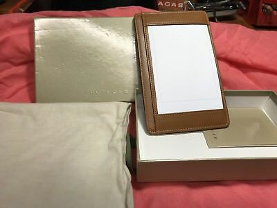 Levenger Shirt Pocket Briefcase - Saddle Leather - New with Box