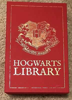 Harry Potter: Hogwarts Library by J. K. Rowling, 2013 box set, Comic Relief ed