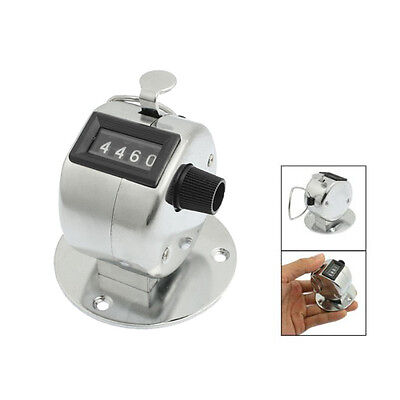 Wholesale Round Base 4 Digit Manual Hand Tally Mechanical Palm Click Counter