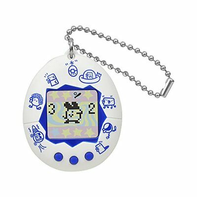 BANDAI Tamagotchi Congratulation 20th Anniversary New species White & Blue Japan