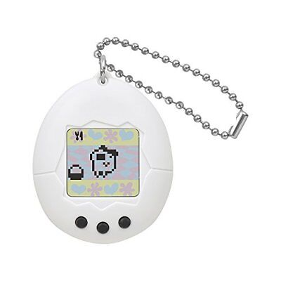 BANDAI Tamagotchi Congratulation 20th Anniversary! Tamagotchi White from Japan