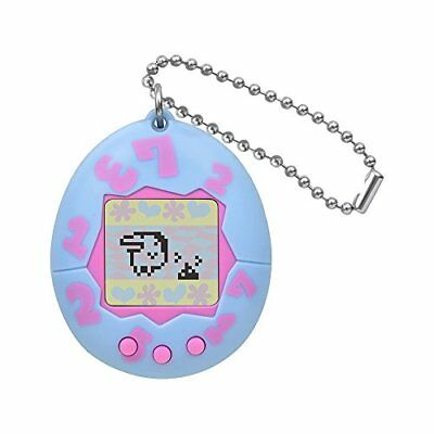 BANDAI Tamagotchi Congratulation 20th Anniversary Light Blue New from Japan F/S